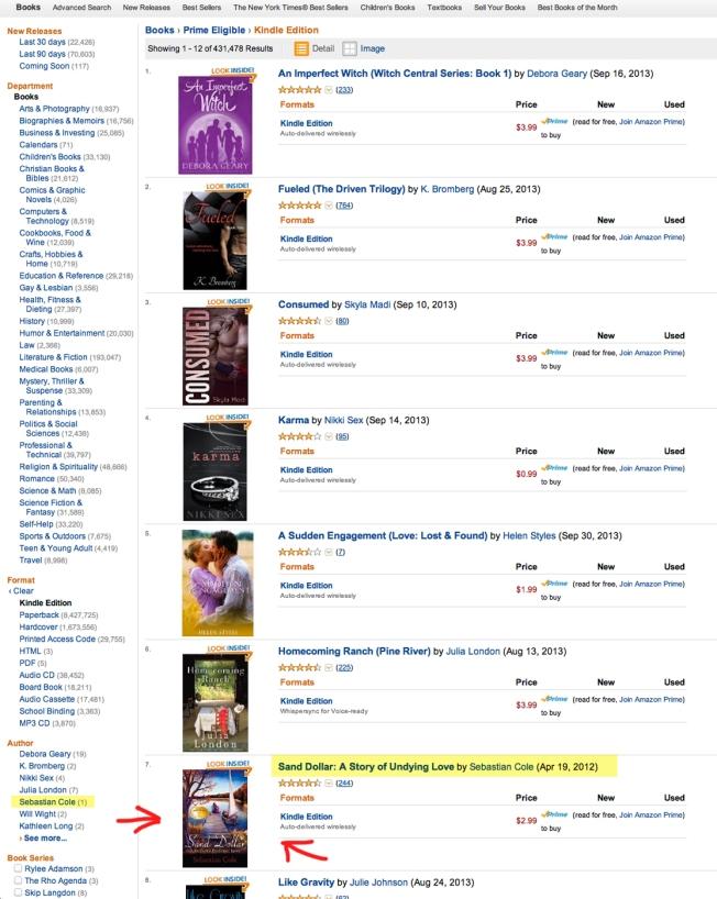 Amazon Prime Eligible Kindle Edition